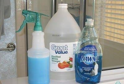 home made shower cleaner