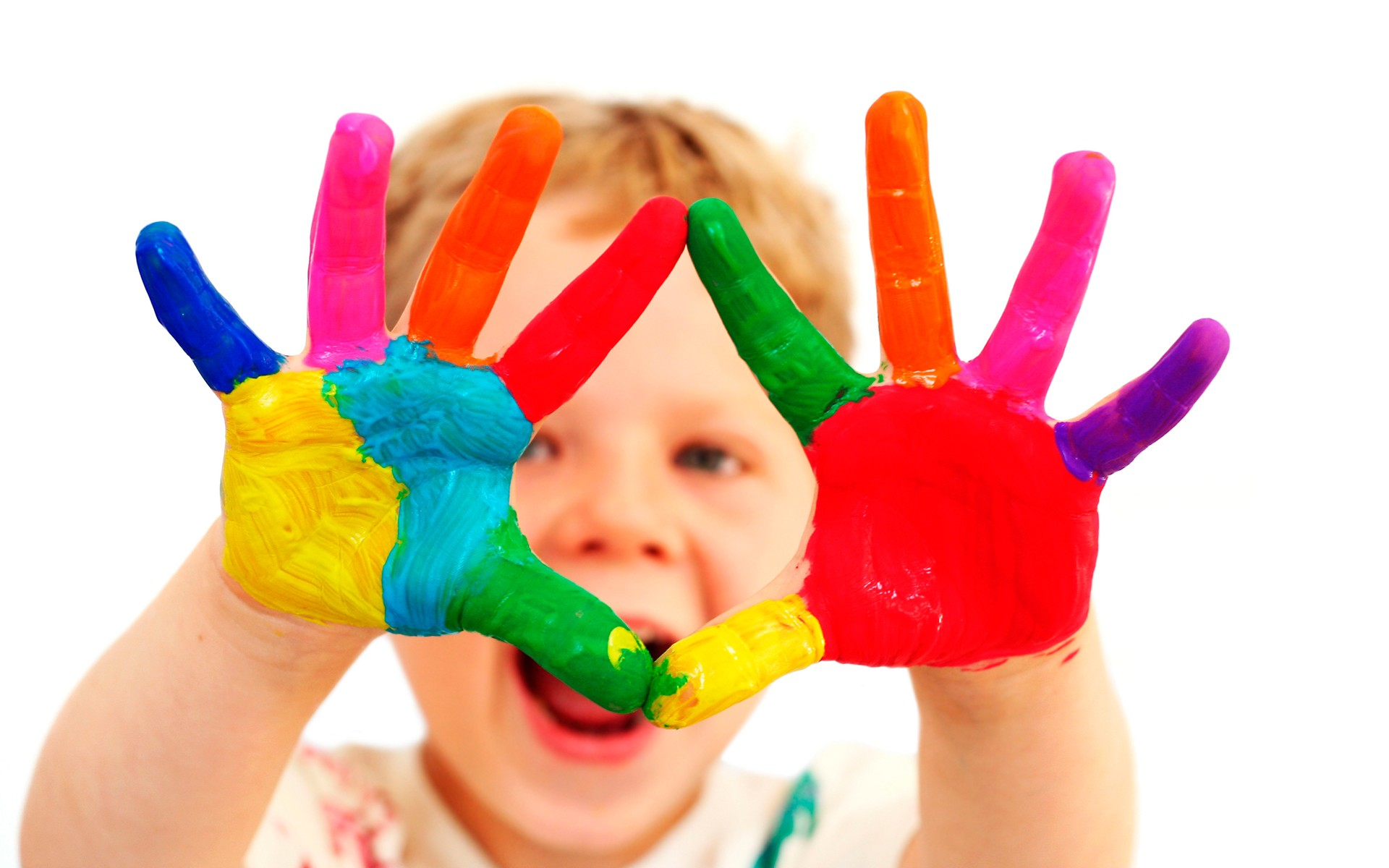 Image result for child fingerpaint