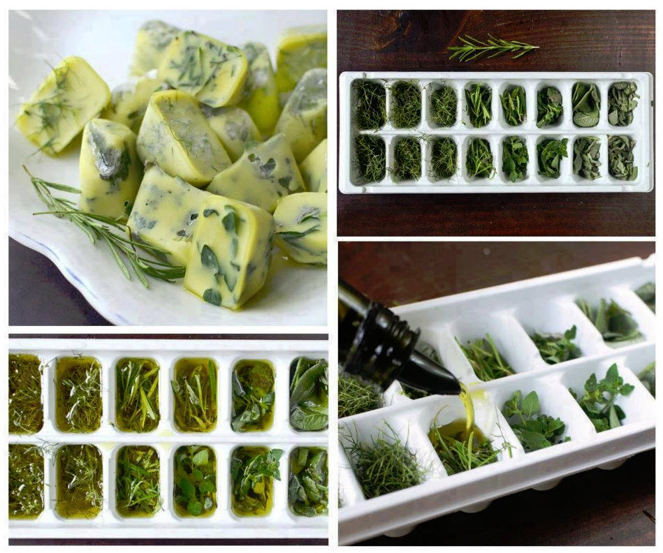 Freeze-Your-Fresh-Herbs-In-Olive-Oil