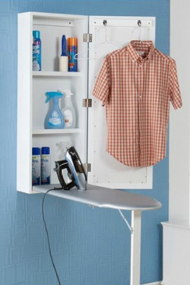 mount ironing board