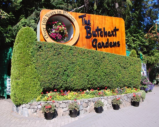 1 butchart gardens