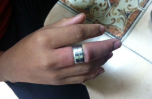 stuck rings