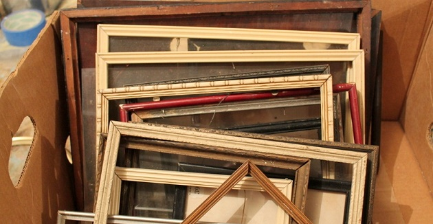 Five Ways to Upcycle Old Picture Frames   Idea Digezt