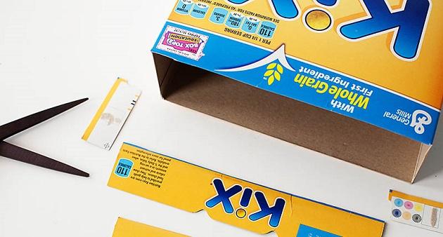 Share1K & Six DIY Ways To Recycle Cereal Box | Idea Digezt Aboutintivar.Com