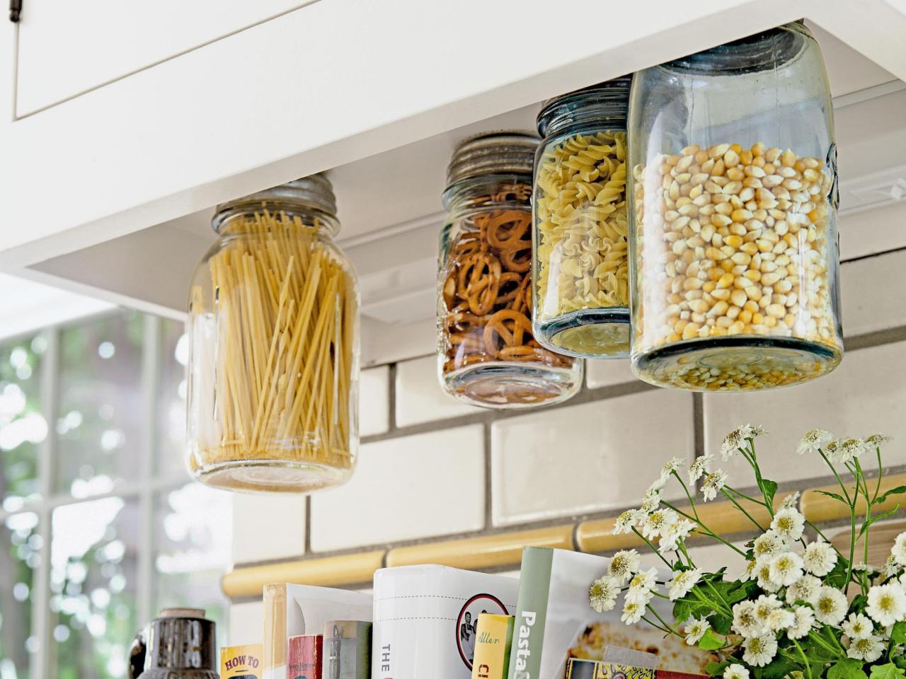 1. Mason Jar Food Storage