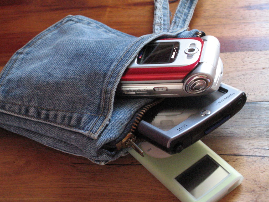 Сумка-чехол для телефона своими руками