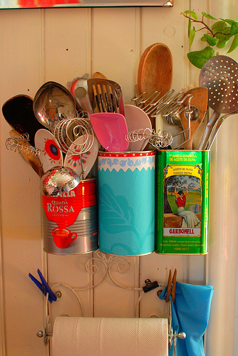 3. Tin Can Tool Holder