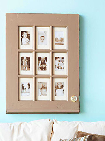 3. Window Picture Frame