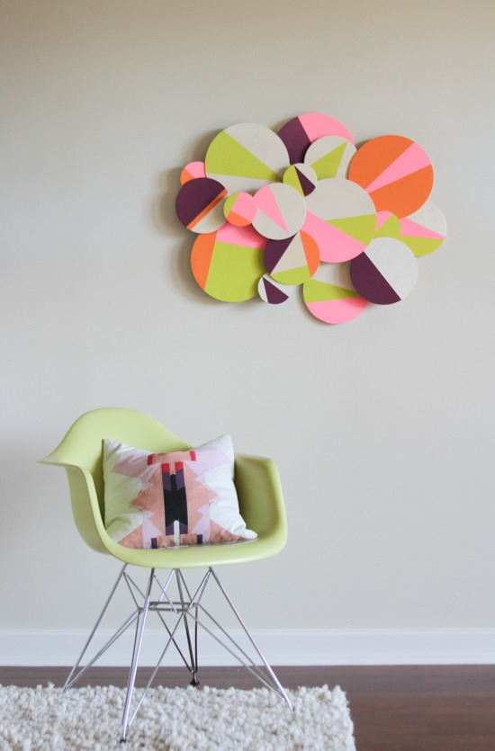3D Colorblock Wall Art
