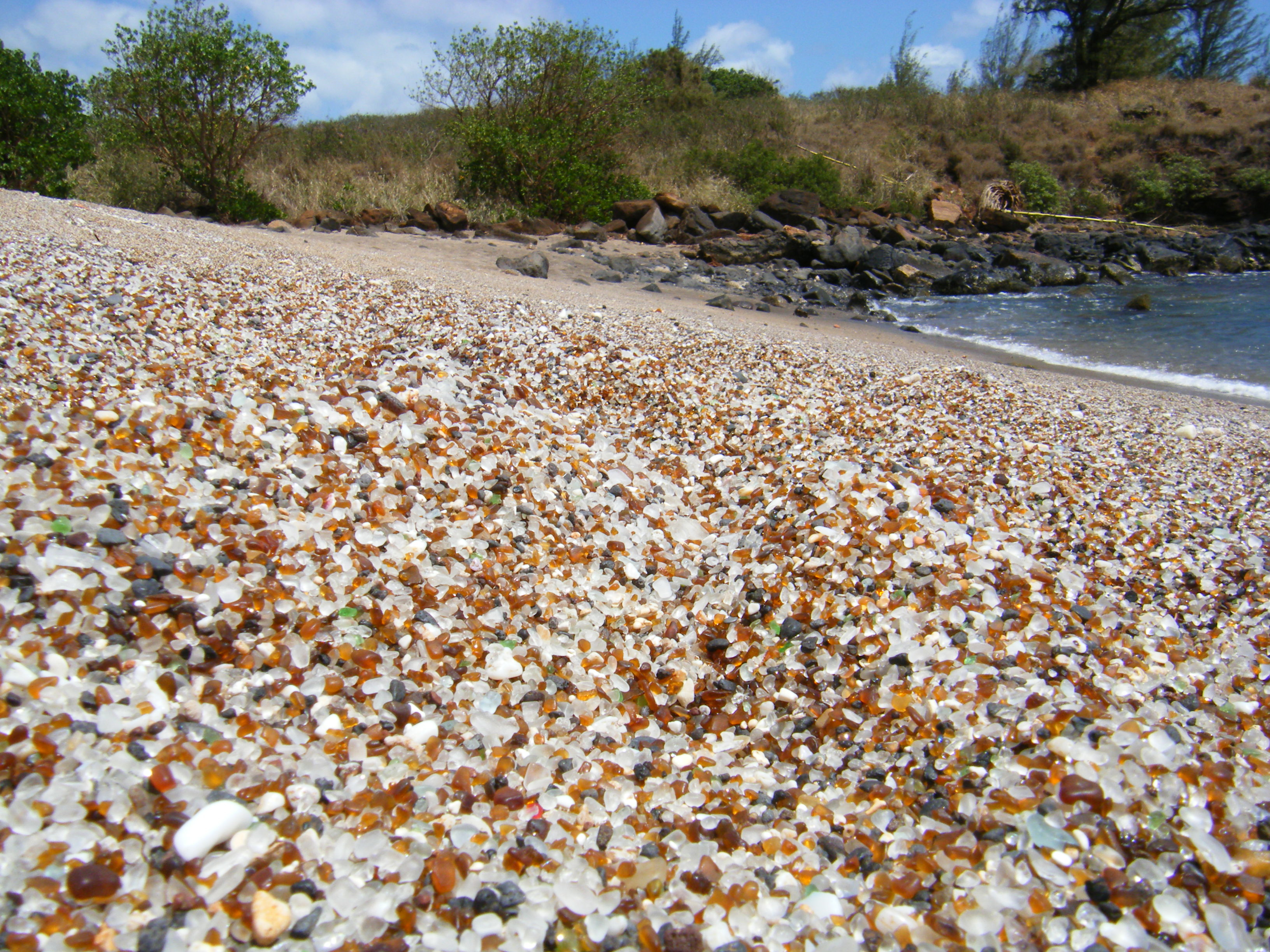 4. Glass Beach, Hawaii