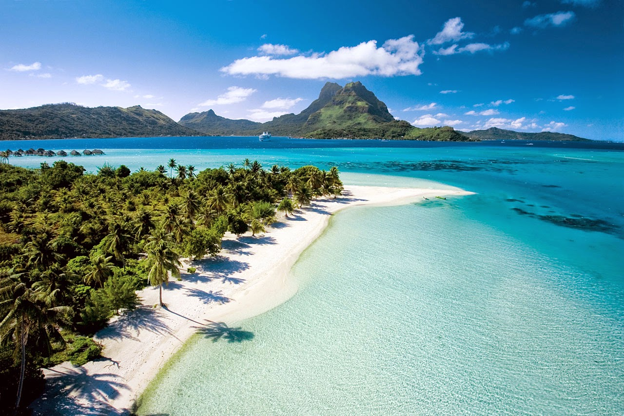 5. Matira Beach, Bora Bora