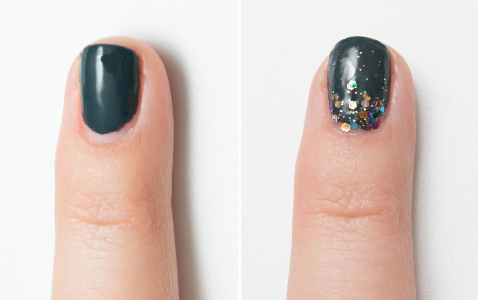 8 Glitter To Hide Overgrown Manicure