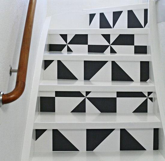 8. Stair Risers