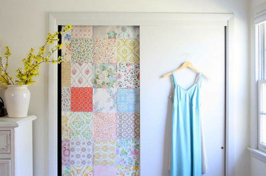 9. Closet Door Design