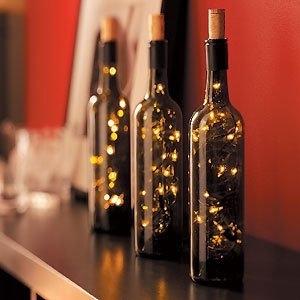 9. Wine Bottle Light