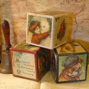 4 carton building blocks