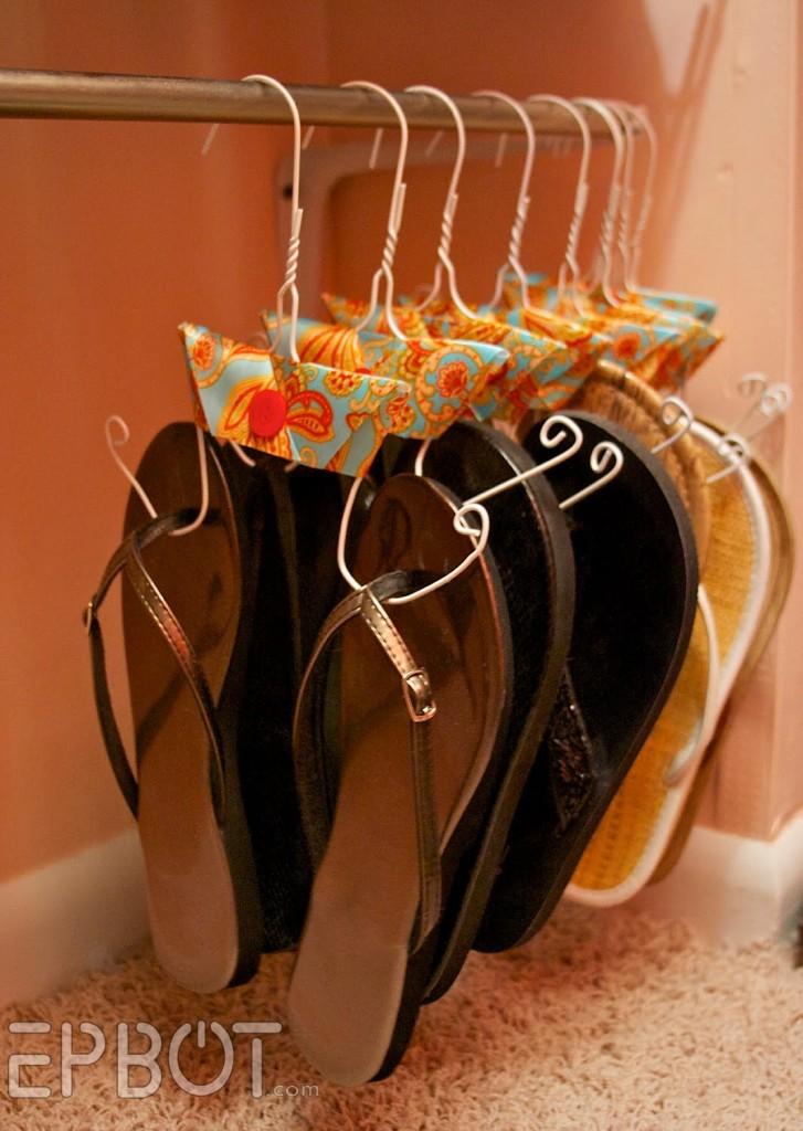 5 hanger flip flops