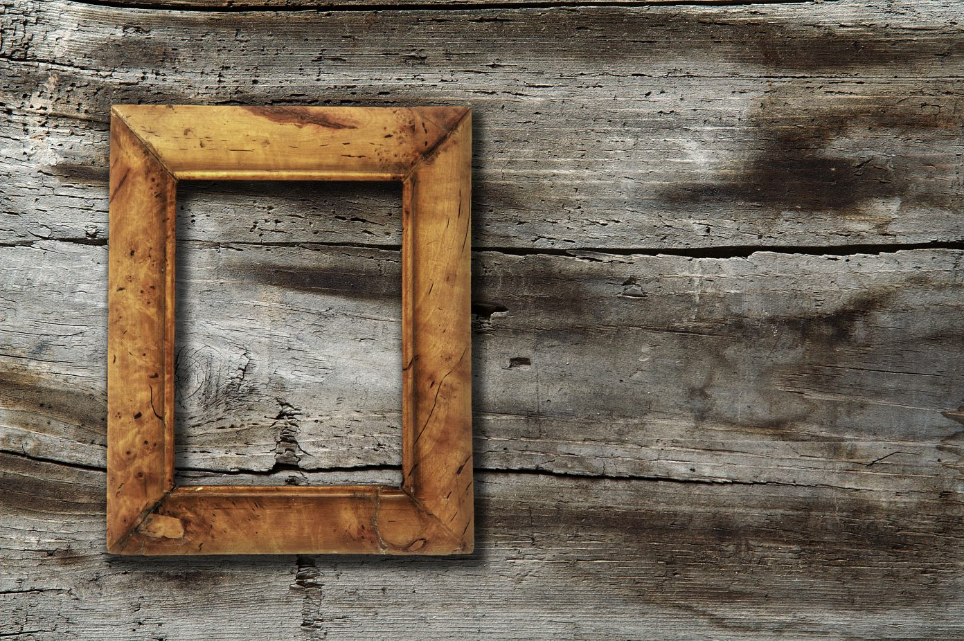 Cached Old wood photo frames